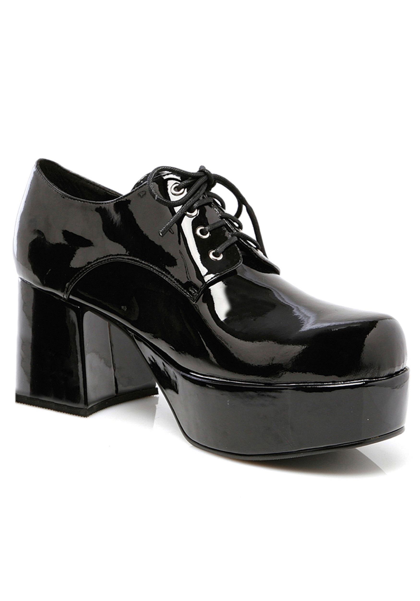 Black Pimp Shoes for Men