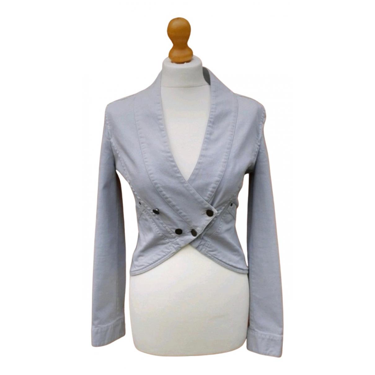 Stella Mccartney N Blue Cotton jacket for Women 40 IT