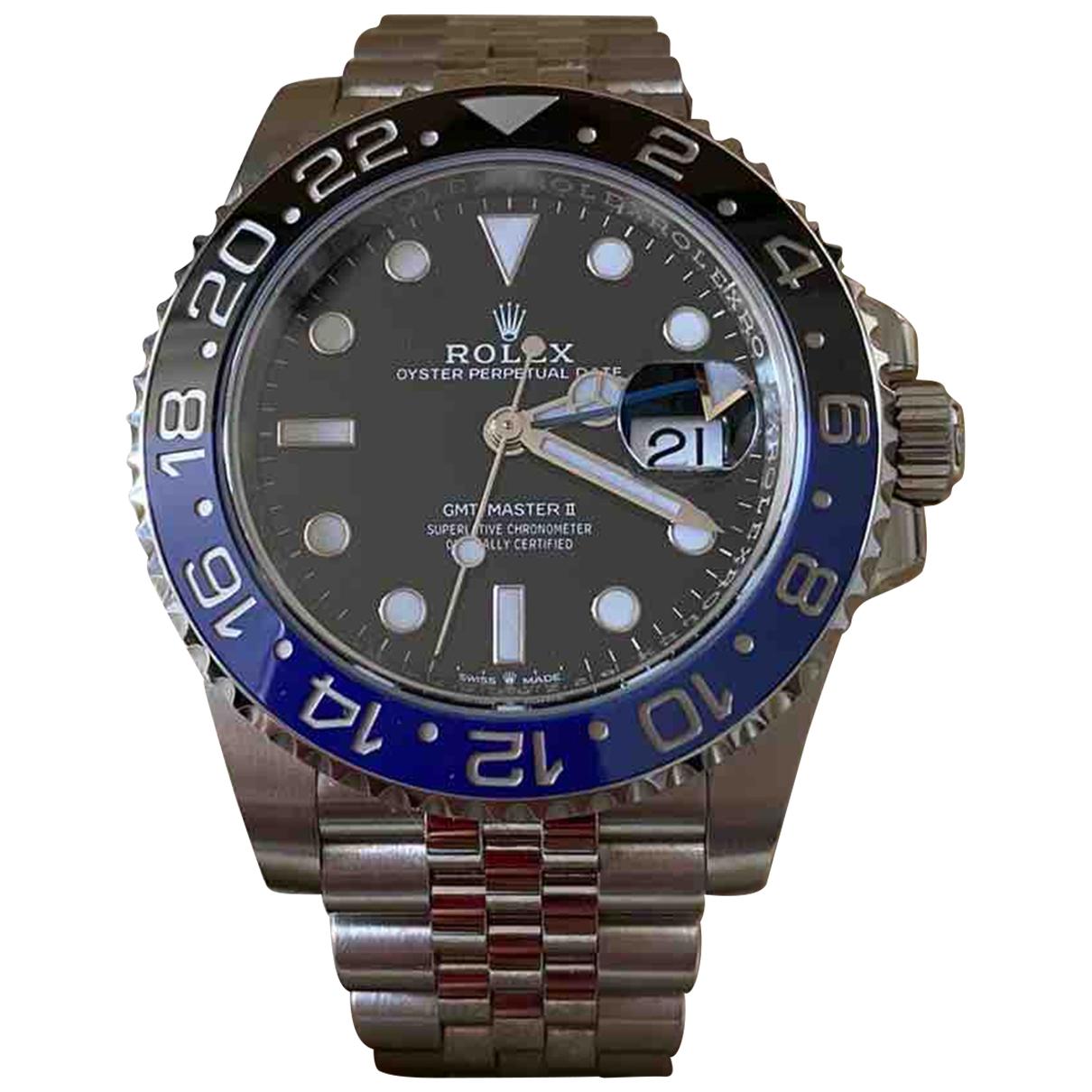 Rolex GMT-Master II Uhr in Stahl