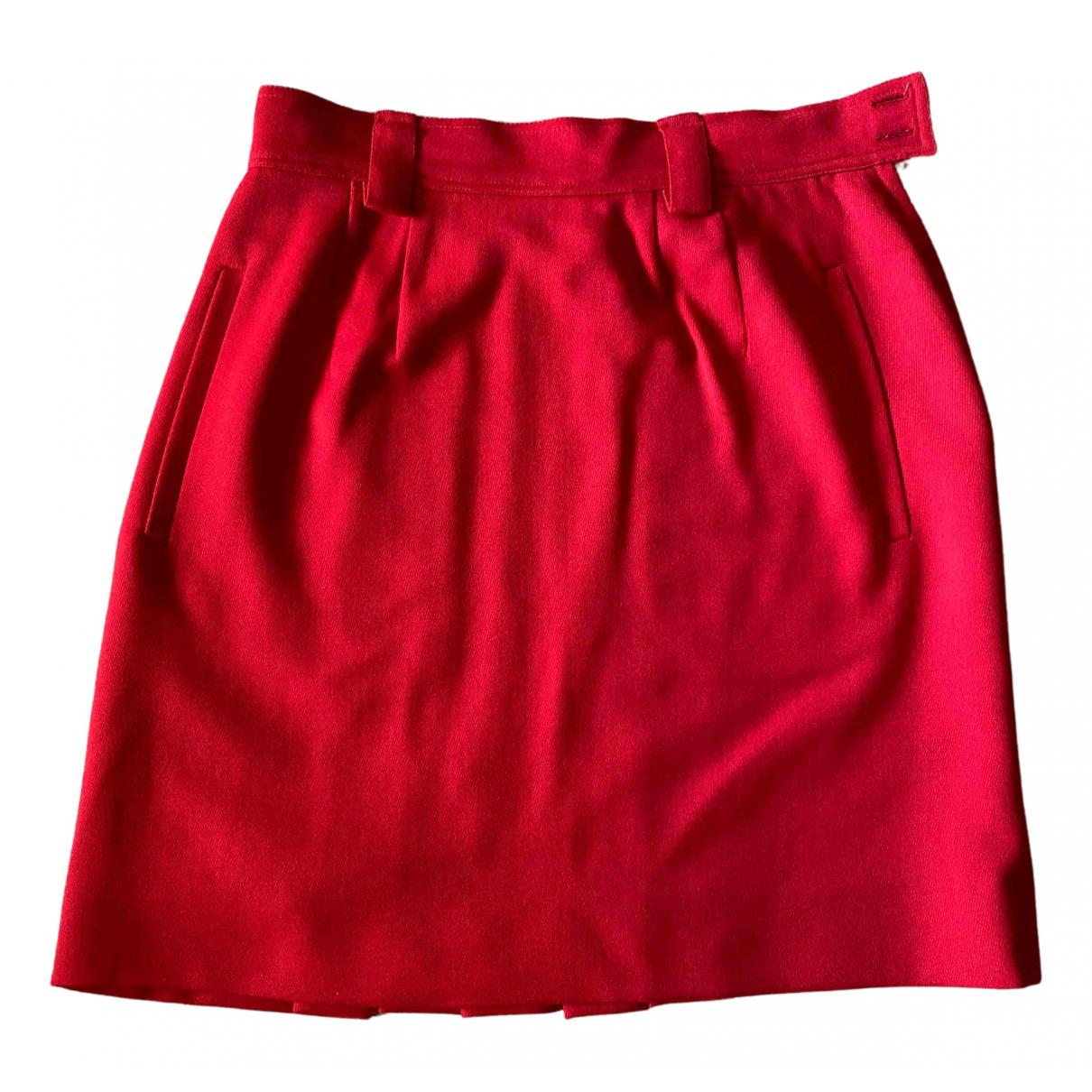 Sport Max \N Rocke in  Rot Wolle