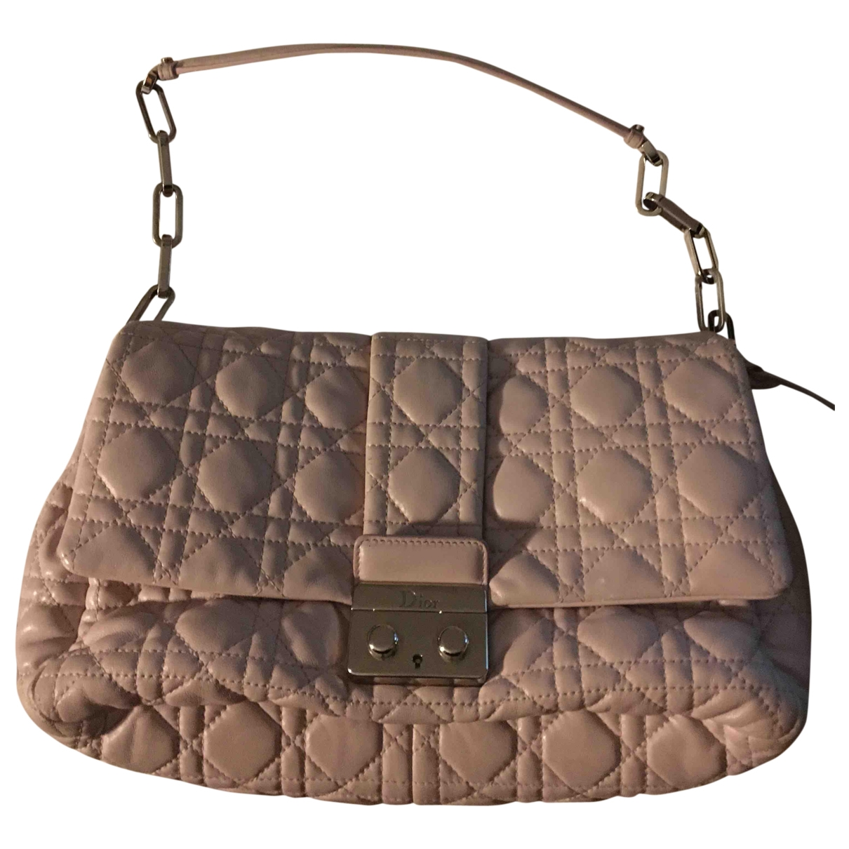 Dior Miss Dior Pink Leather handbag for Women \N