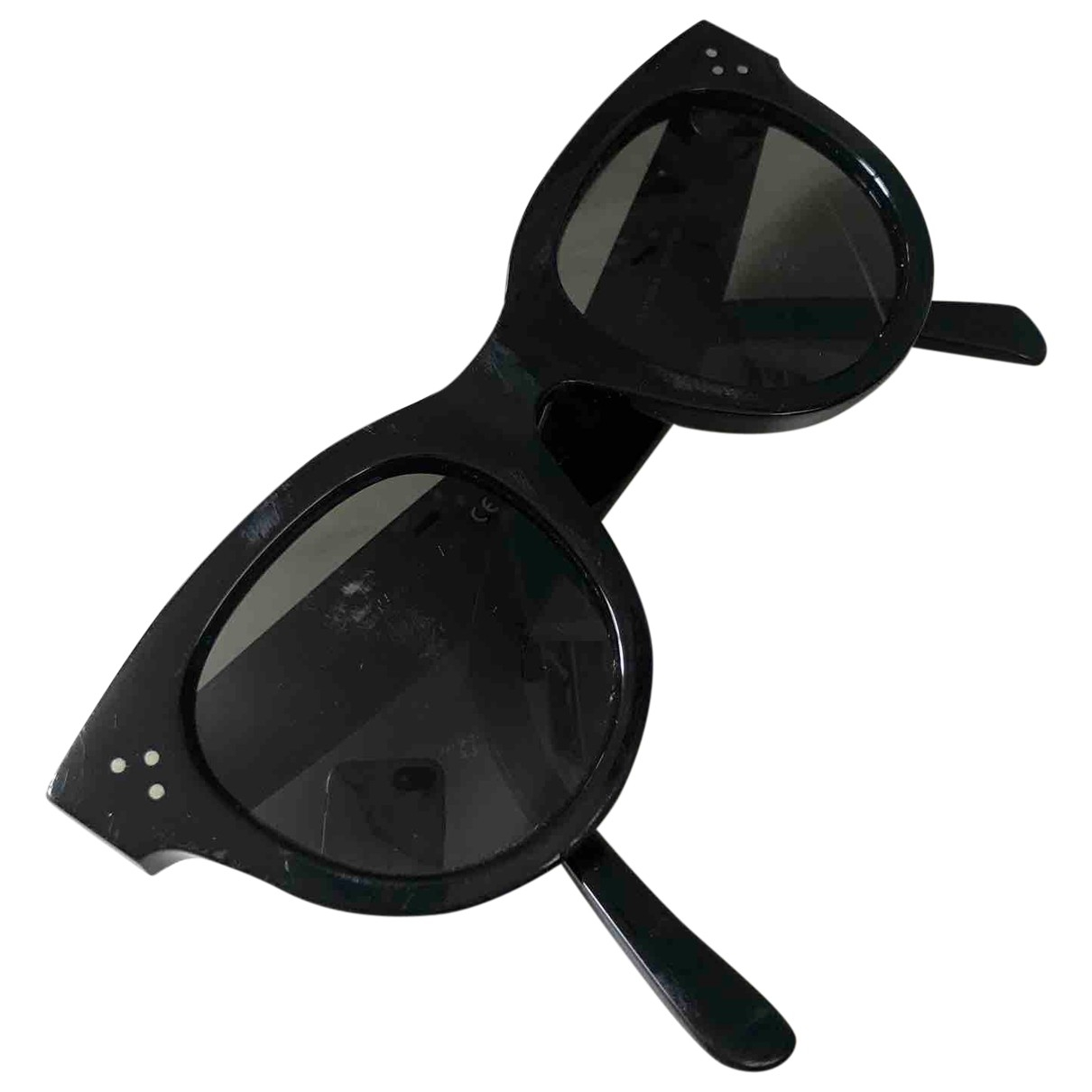 Celine New Audrey Black Sunglasses for Women \N