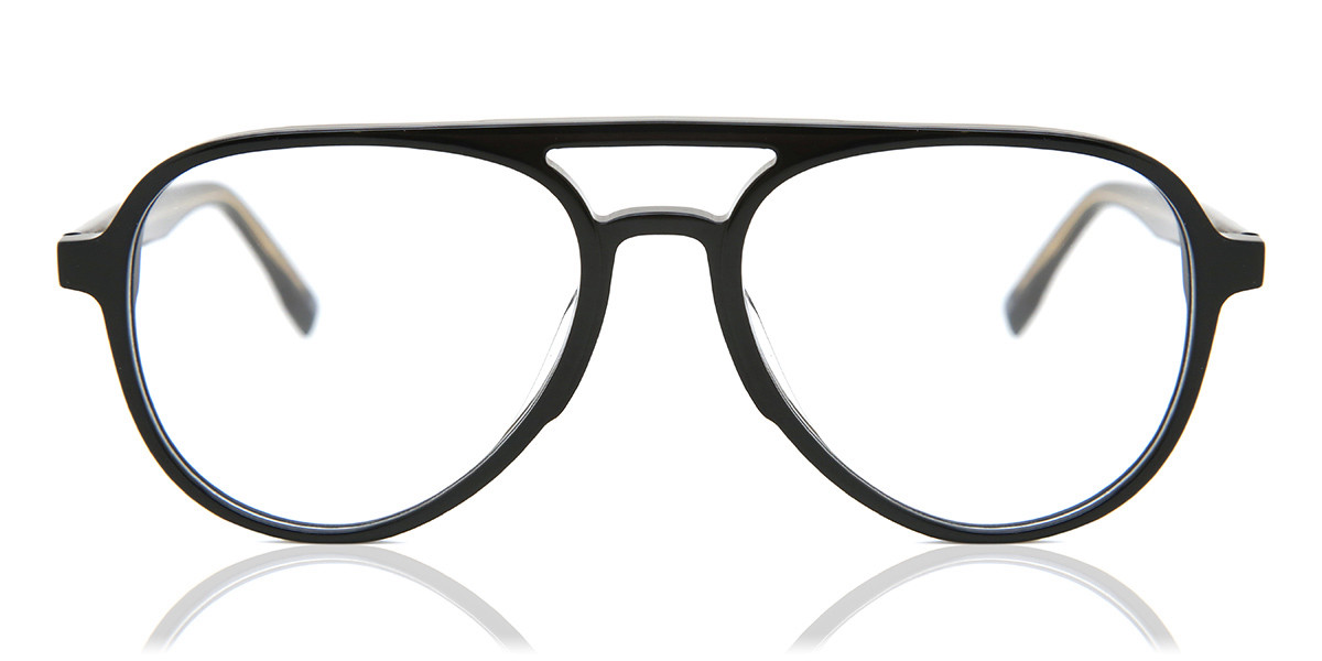 Square Full Rim Plastic Men's Glasses Discount Black Size 54 - Free Lenses - HSA/FSA Insurance - Blue Light Block Available - Arise Collective