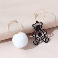 Ohrringe mit Baeren Design