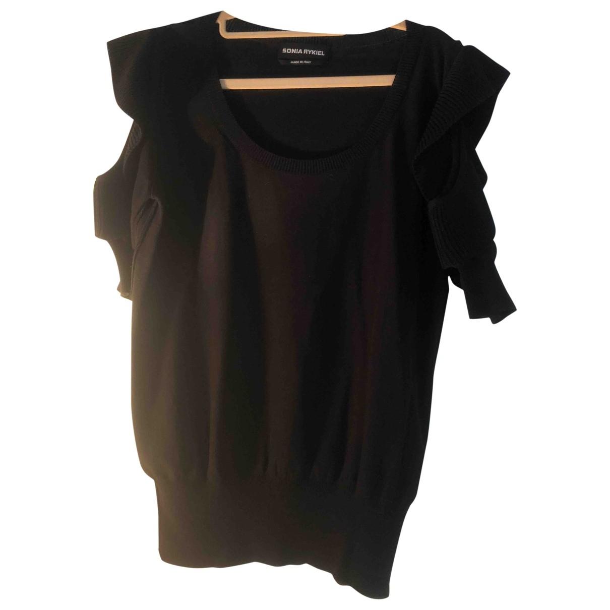Sonia Rykiel \N Black Cotton  top for Women 42 FR
