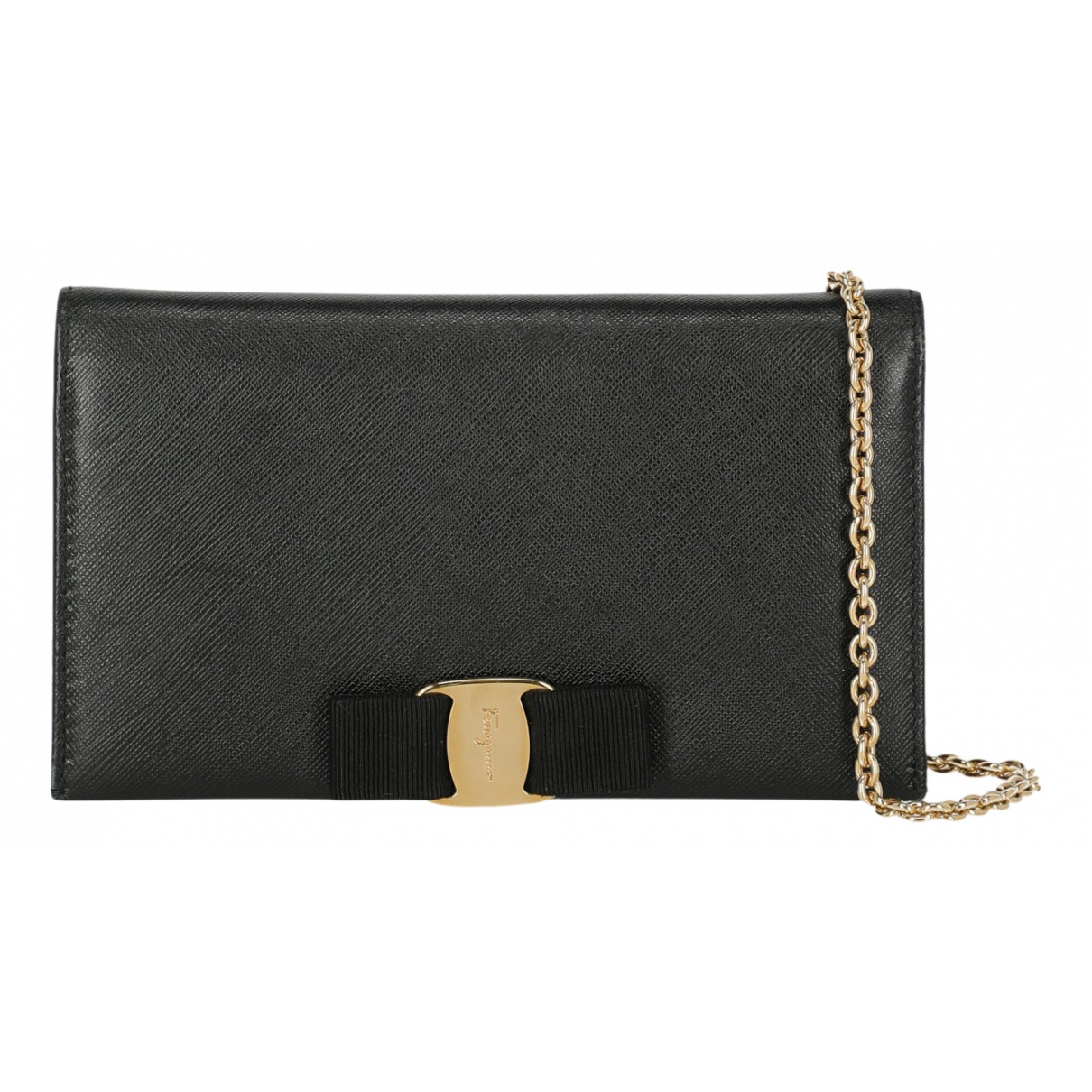 Salvatore Ferragamo N Black Leather wallet for Women N