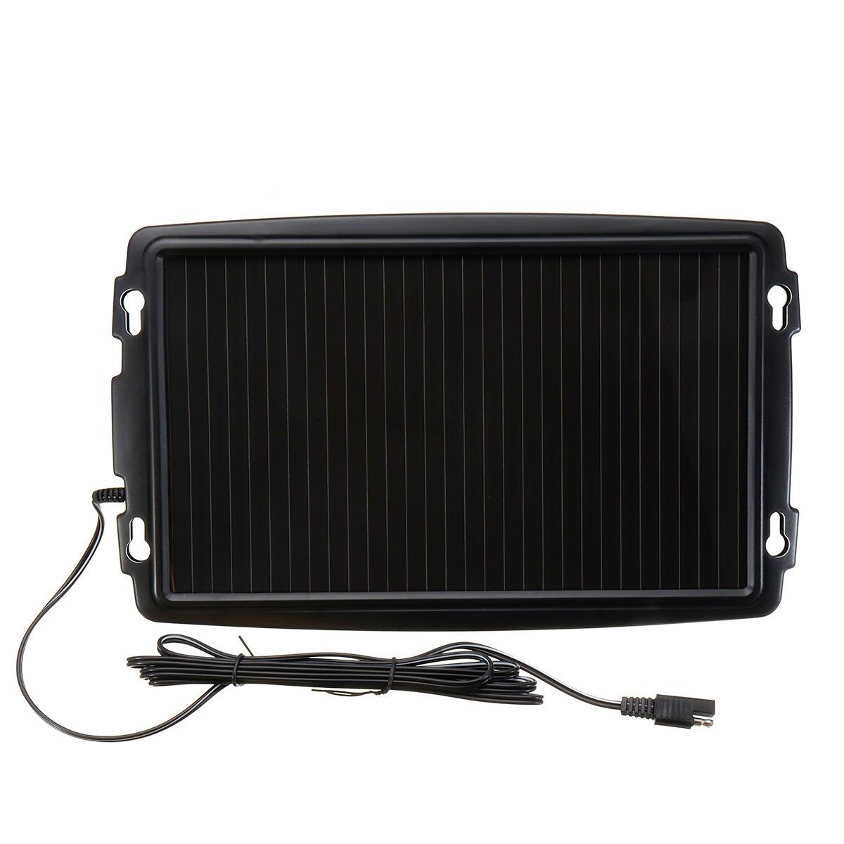 18V 2.4W Solar Panel Battery Charger Backup For Car Boat Caravan Power Supply