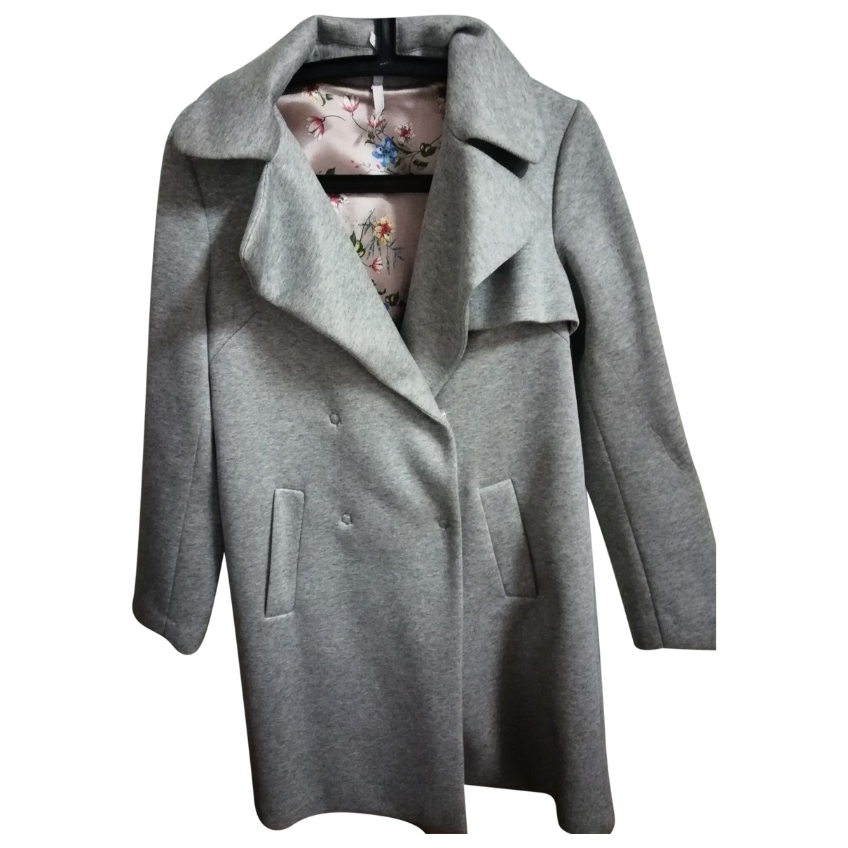 Impérial \N Grey coat for Women 38 FR
