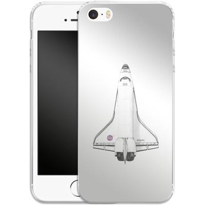 Apple iPhone SE Silikon Handyhuelle - Atlantis von Florent Bodart