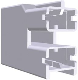 TE Connectivity Positive Lock .250 Series, 2 Way Nylon Crimp Terminal Housing, 6.35mm Tab Size, Natural (10)
