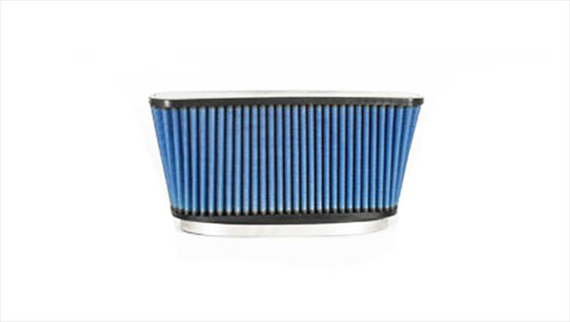 Pro 5 Air Filter Blue 10.5 x 2.0/12 Inch H x .04 W/14 Inch H x 2.5 Inch W/ 6.0 Inch Oval Volant