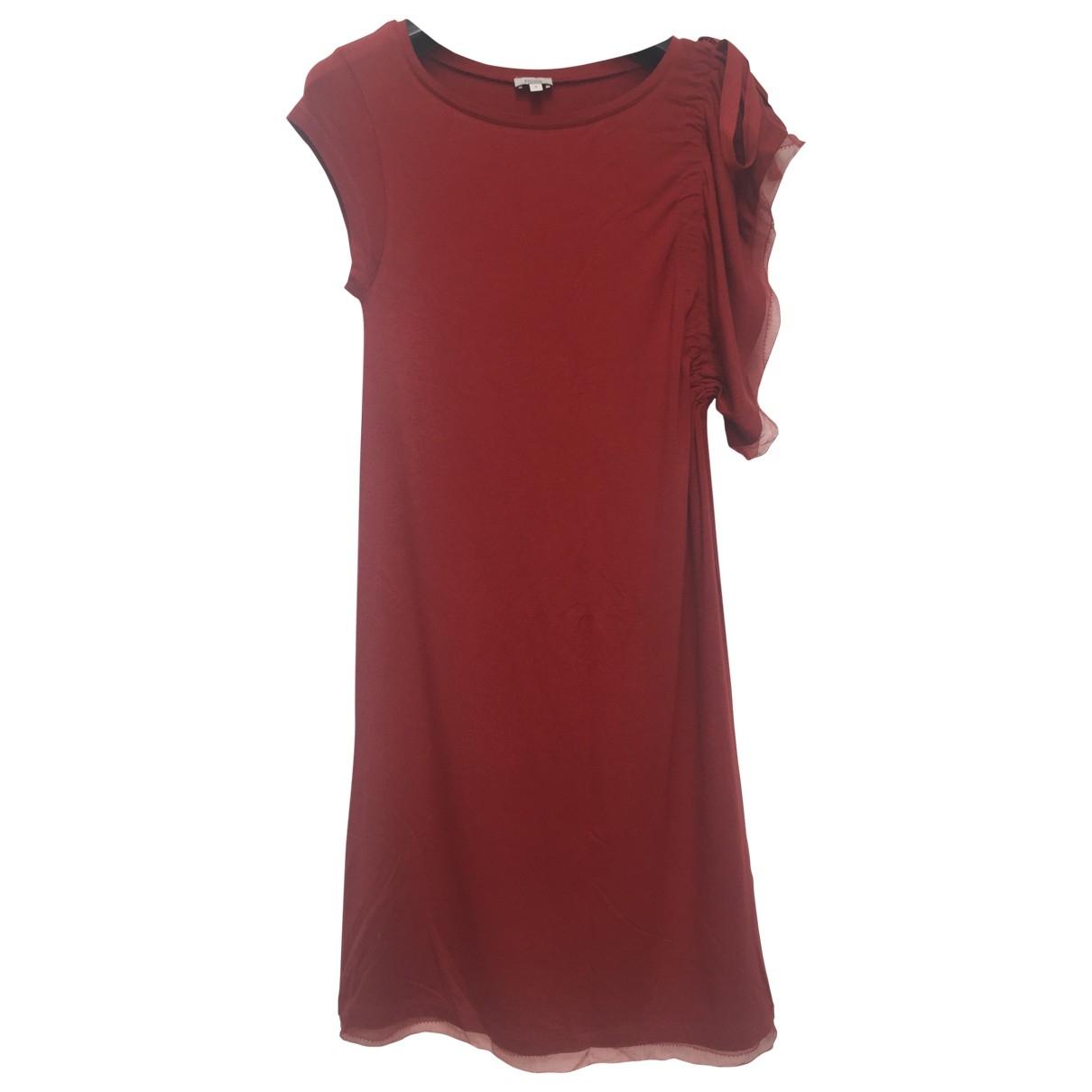 Hoss Intropia \N Kleid in  Bordeauxrot Baumwolle - Elasthan