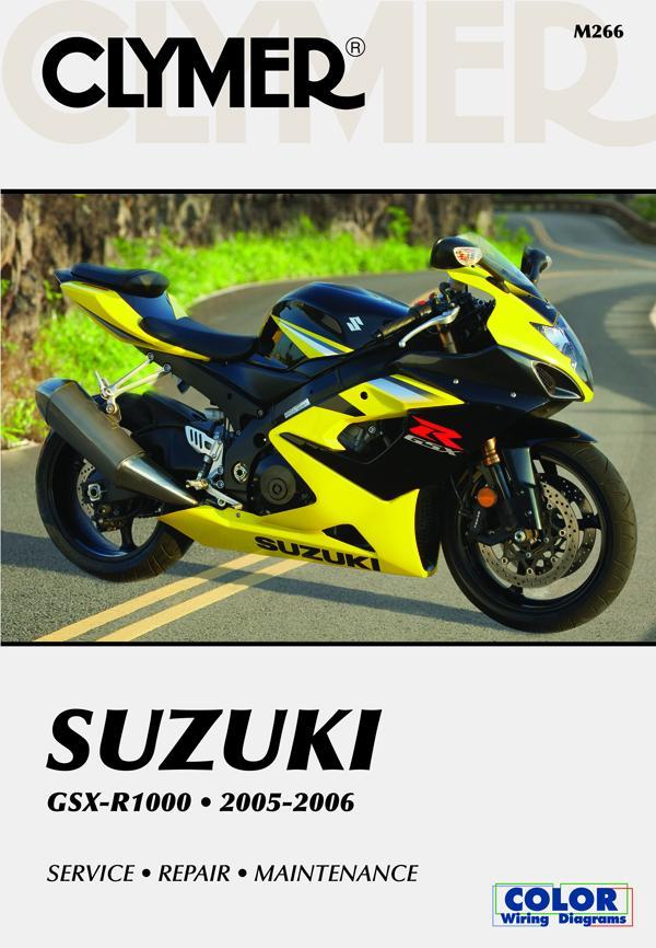Suzuki GSX-R1000 Series Motorcycle (2005-2006) Service Repair Manual