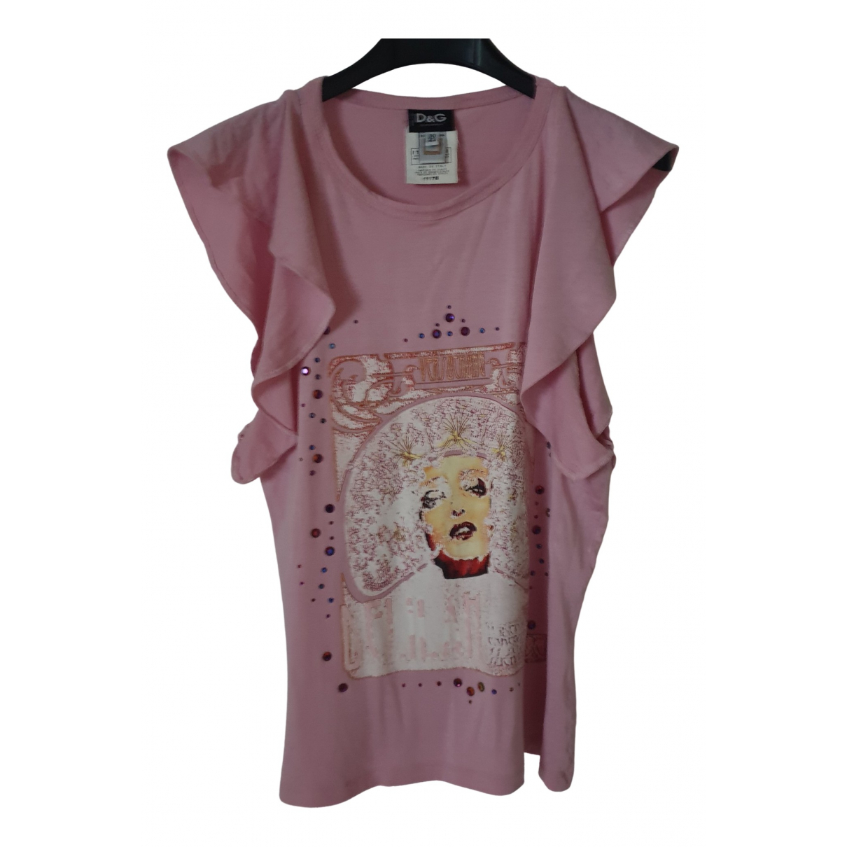 D&g \N Top in  Rosa Baumwolle
