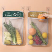 1pc Random Color Vegetables Mesh Storage Bag