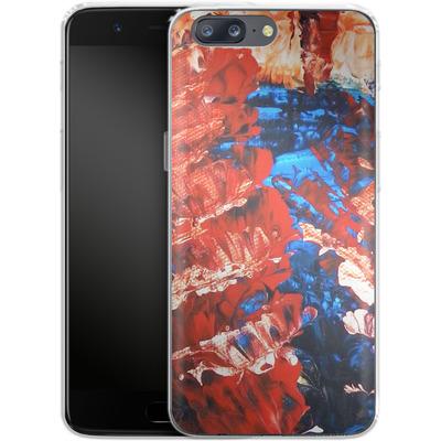 OnePlus 5 Silikon Handyhuelle - Macro 11 von Gela Behrmann