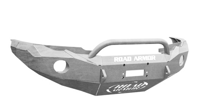 TOYOTA Front Winch Bumper Round Light Ports TACOMA 05-11 RAW Pre-Runner Guard Road Armor 99014Z Stealth Series