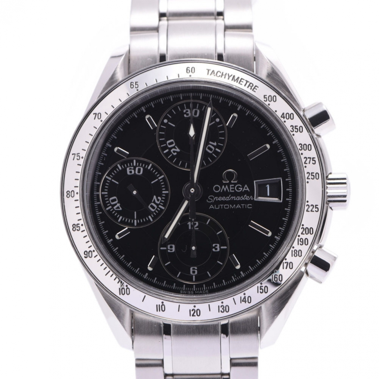 Omega Speedmaster Silver Steel watch for Men \N