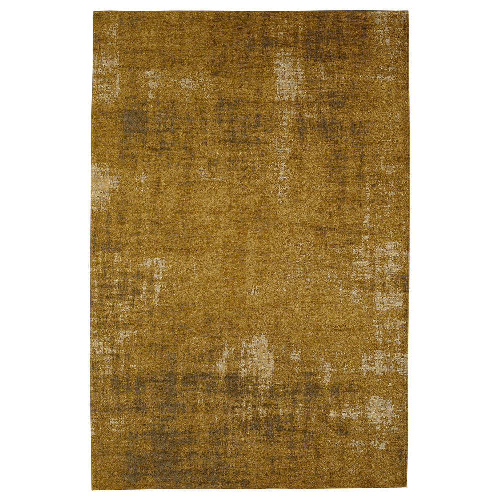 Baumwollteppich, senfgelb, 155x230