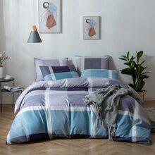 Colorblock Bedding Set Without Filler