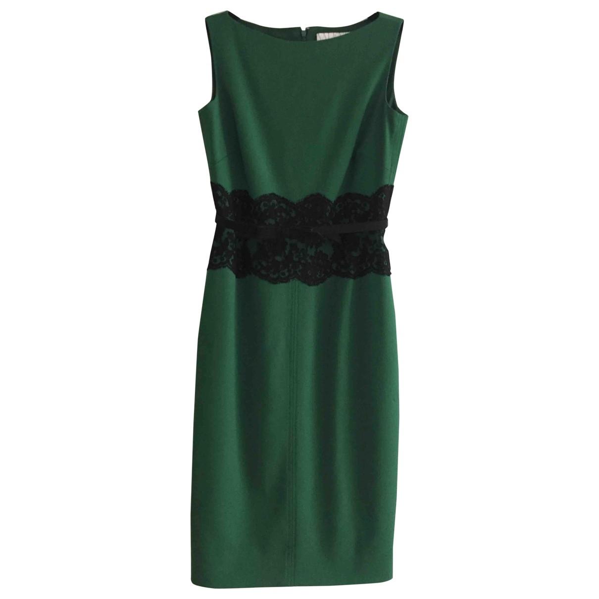 Valentino Garavani - Robe   pour femme en laine - vert
