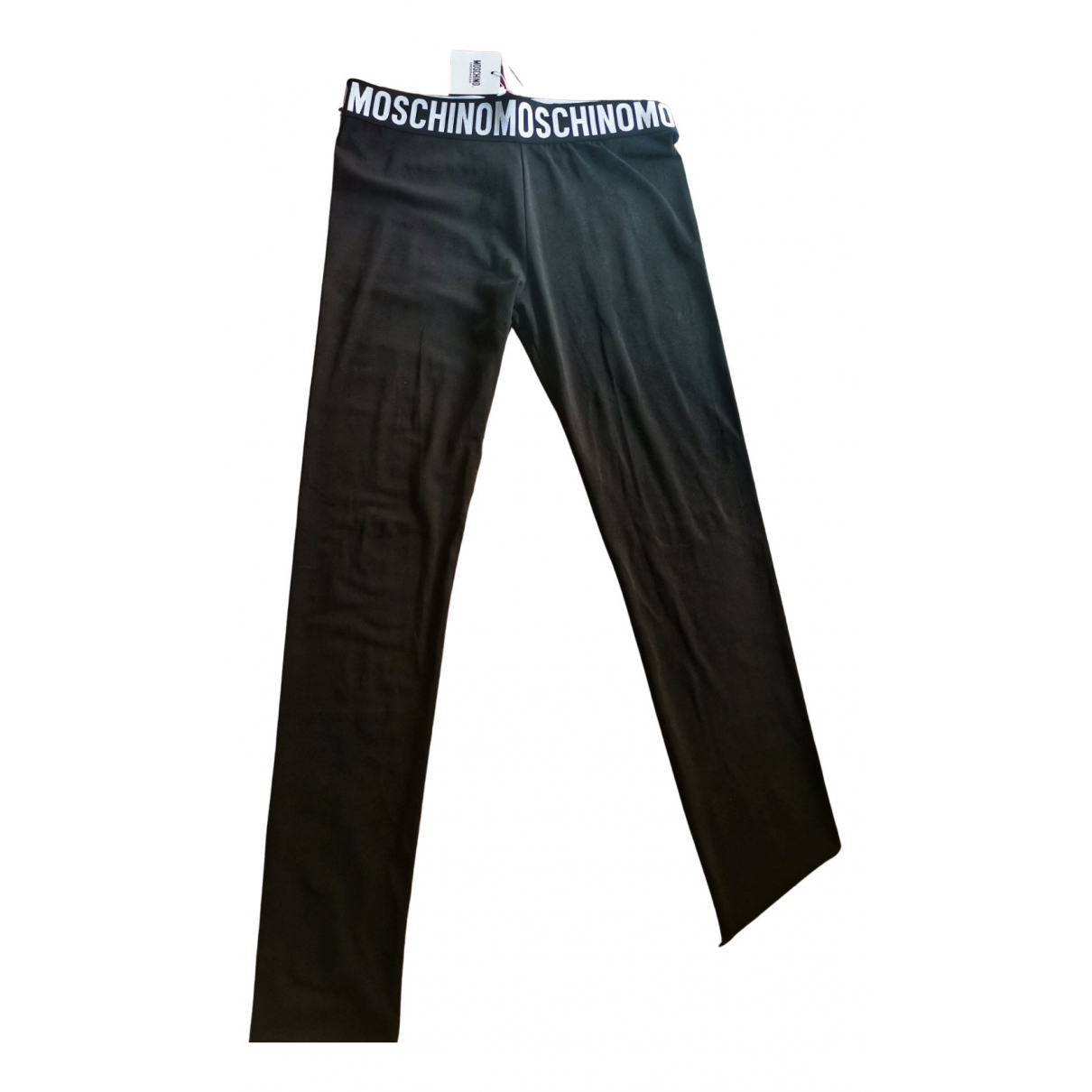 Moschino N Black Cotton Trousers for Women S International