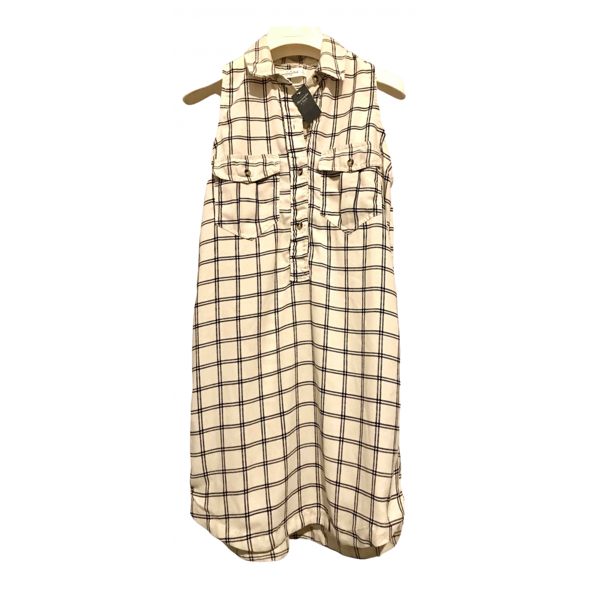 Abercrombie & Fitch \N Kleid in  Beige Polyester