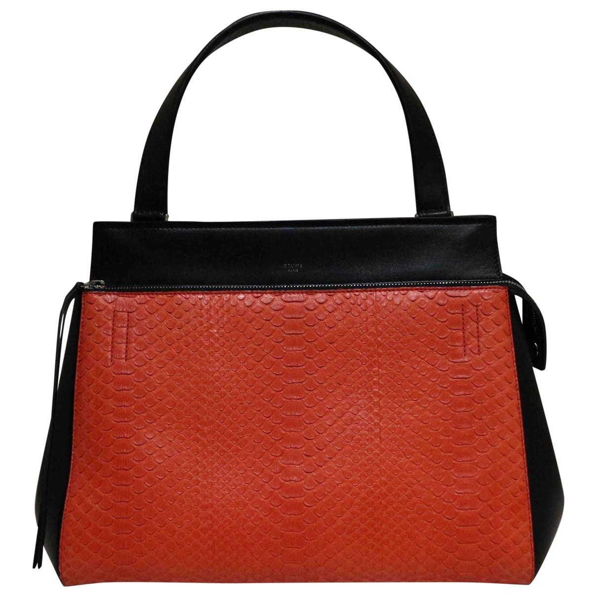 Celine Edge Handtasche in  Bunt Leder