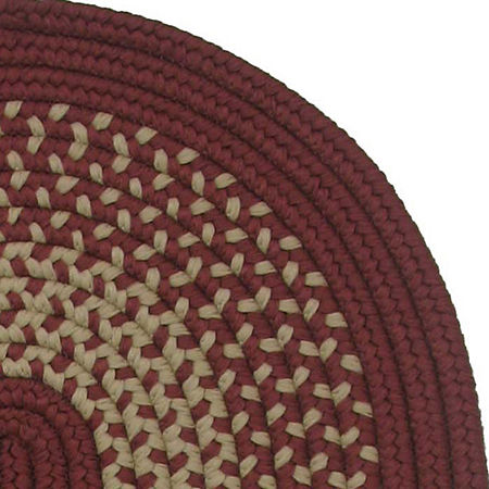 Colonial Mills Houston Reversible Braided Indoor/Outdoor Oval Rug, One Size , Multiple Colors