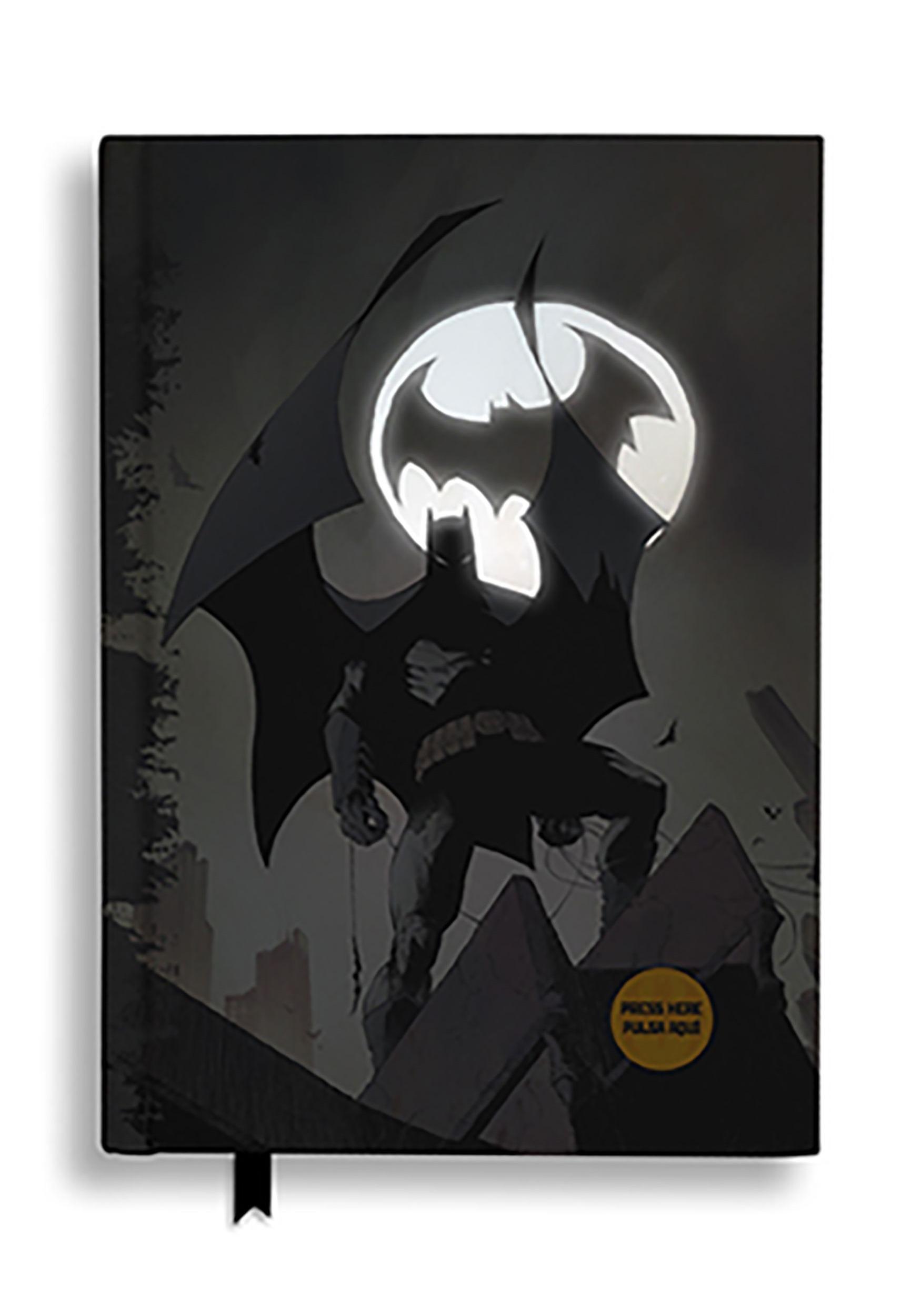 Batman Bat Signal DC Comics Notebook w/ Light