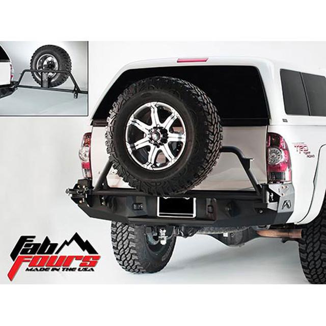 Fab Fours TT05-Y1351-B 05-15 Toyota Tacoma Rear Base Bumper Bare
