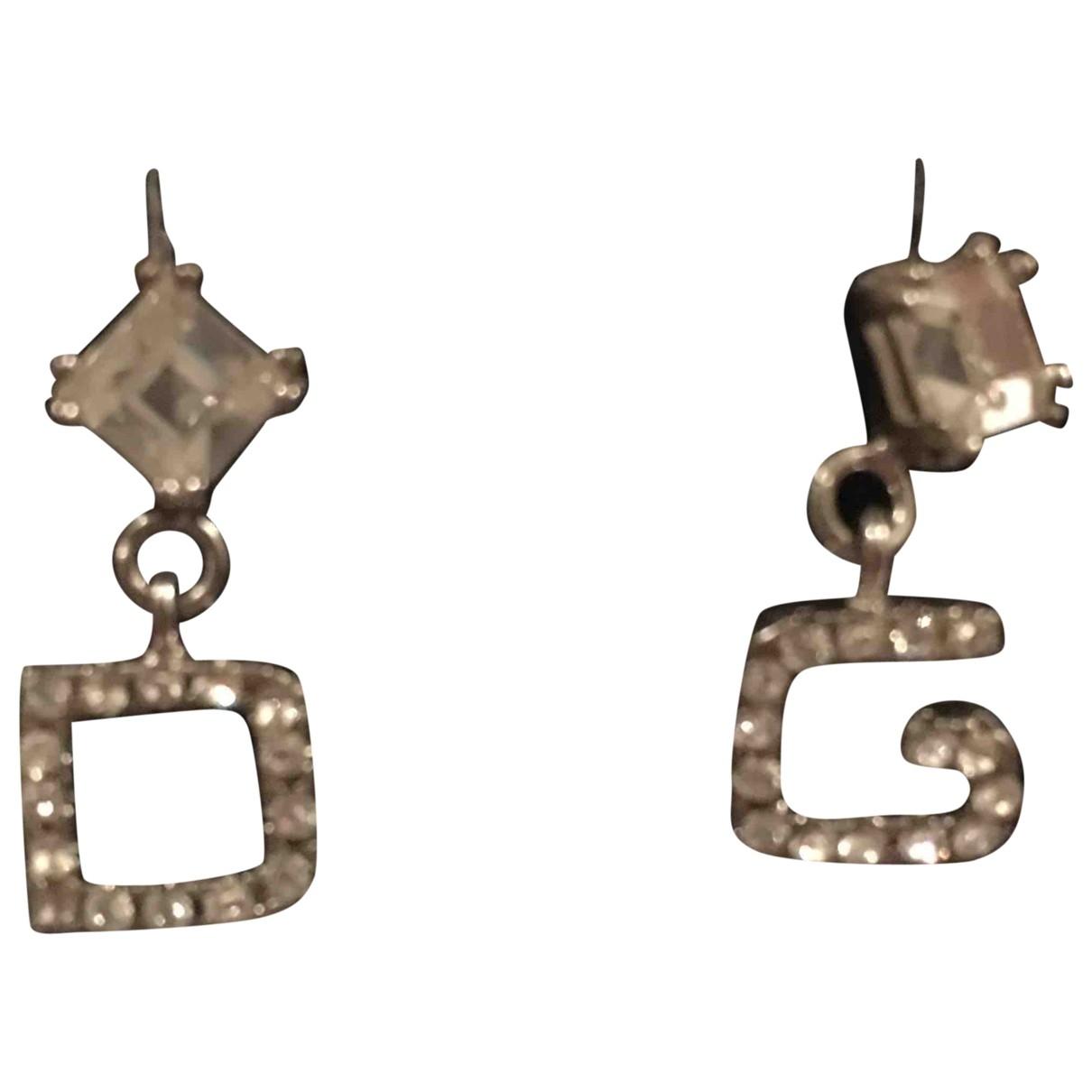 Dolce & Gabbana \N OhrRing in  Silber Silber