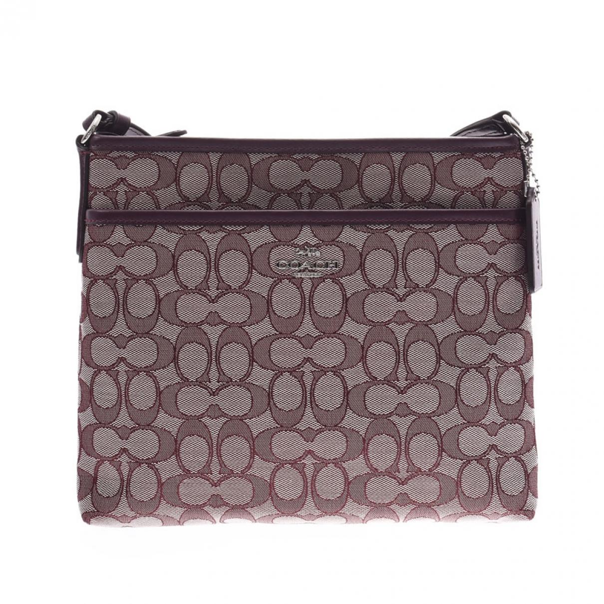 Coach \N Purple Cloth handbag for Women \N