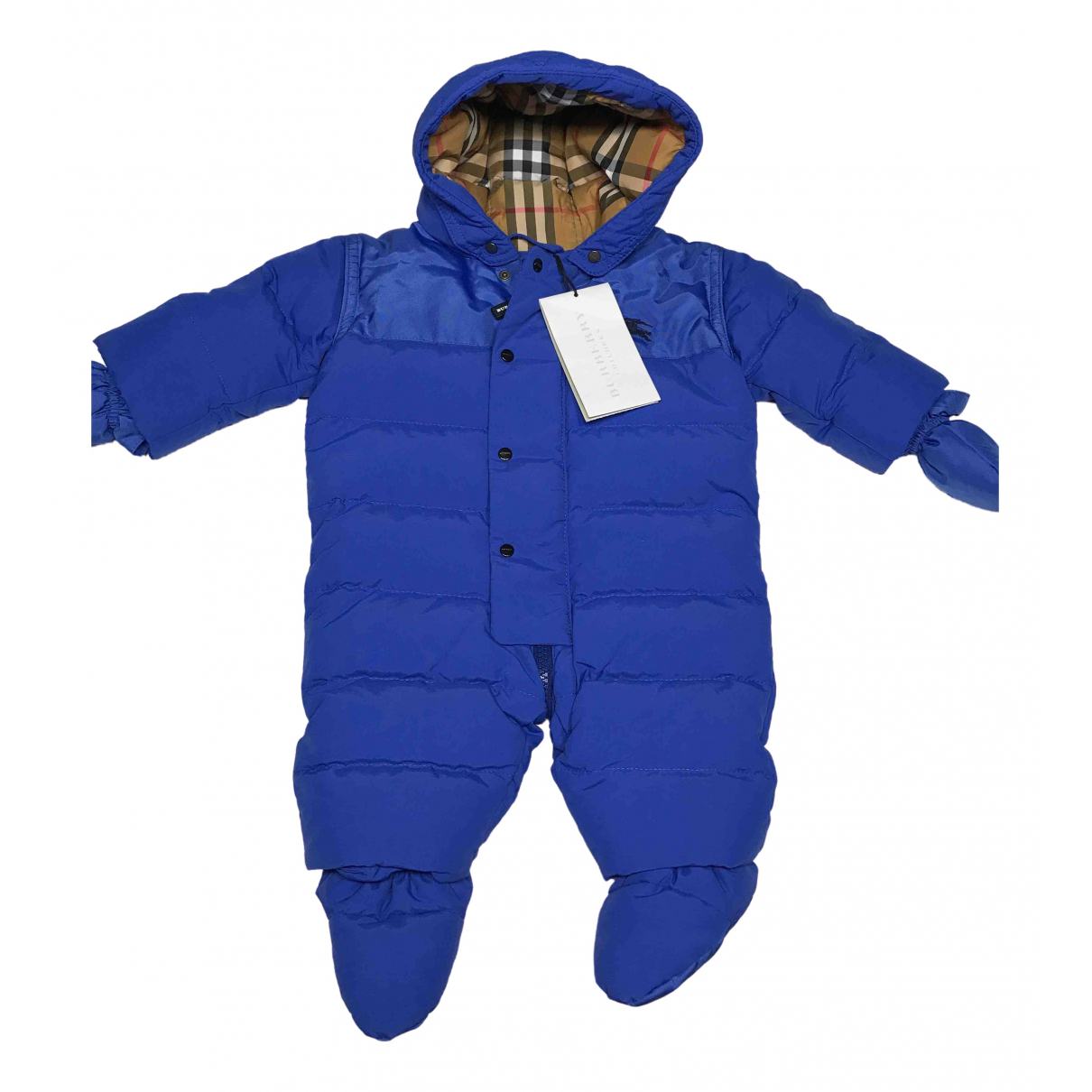 Burberry \N Blue jacket & coat for Kids 1 month - until 22 inches UK