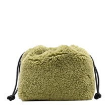 Fluffy Crossbody Bag