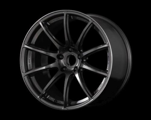 GramLights WGTRU45DH8 57Transcend Wheel 18x8 5x100 45mm Super Dark Gunmetal/Rim Edge DC