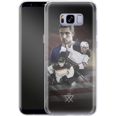 Samsung Galaxy S8 Plus Silikon Handyhuelle - Leon Draisaitl America von Leon Draisaitl