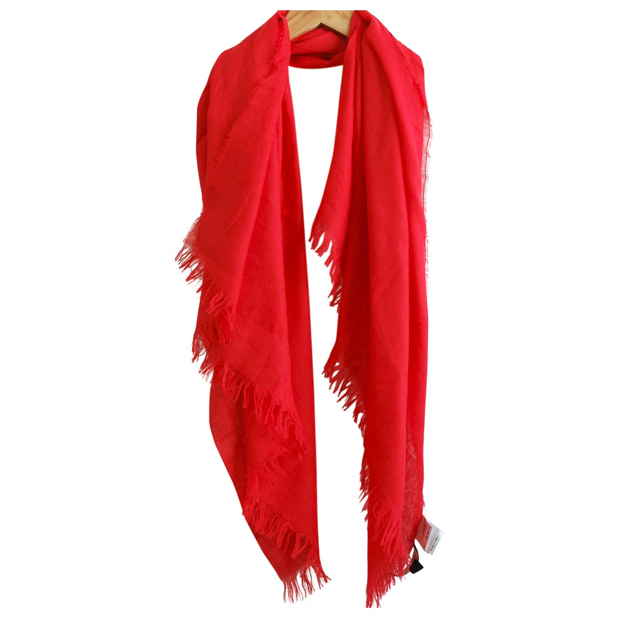 Max Mara \N Red Cashmere scarf for Women \N