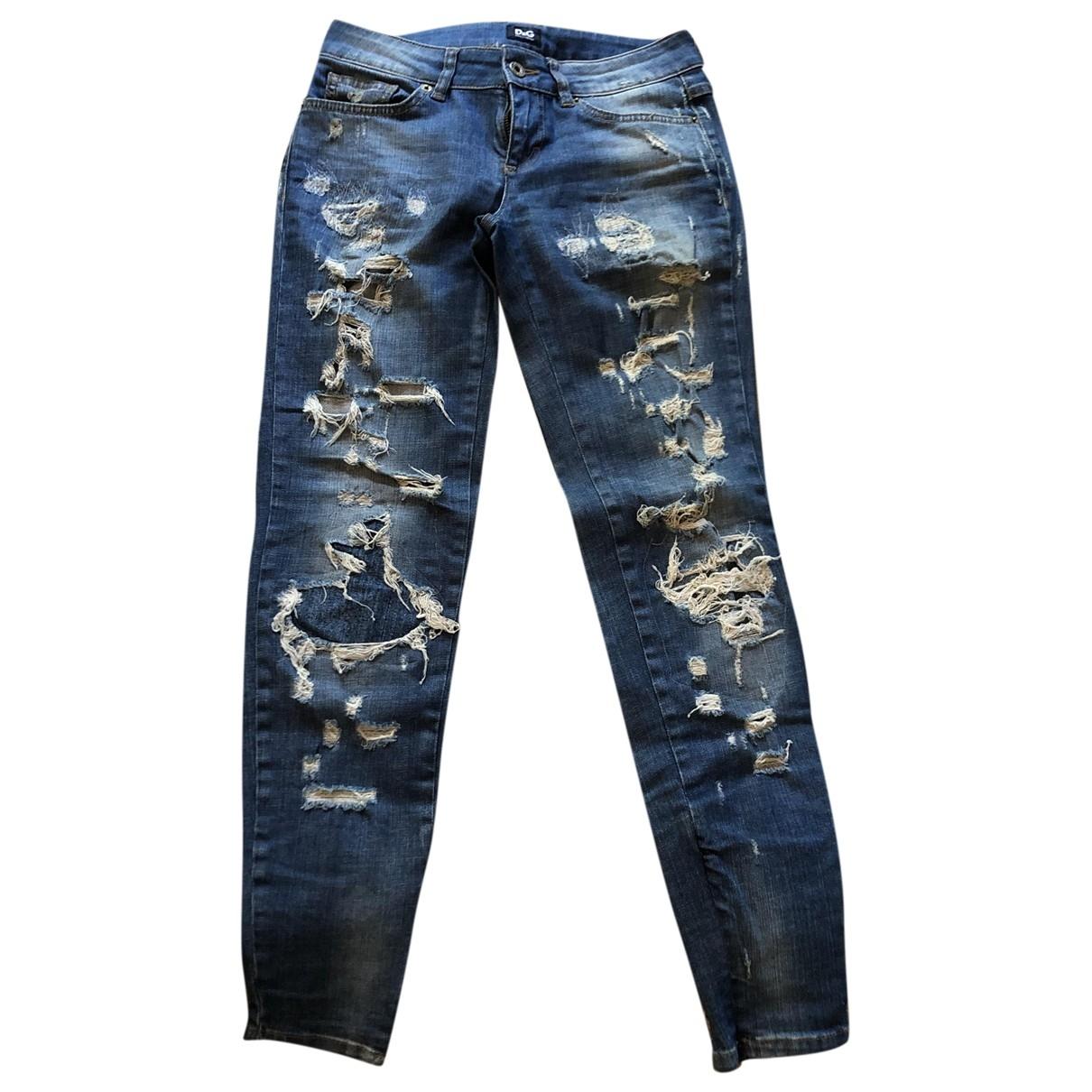 D&g \N Hose in  Blau Denim - Jeans