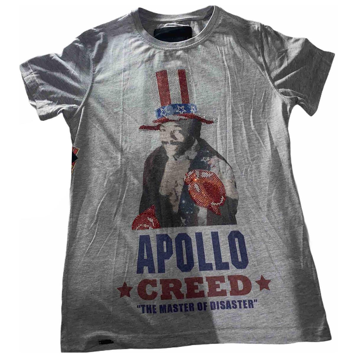 Philipp Plein \N T-Shirts in  Grau Baumwolle