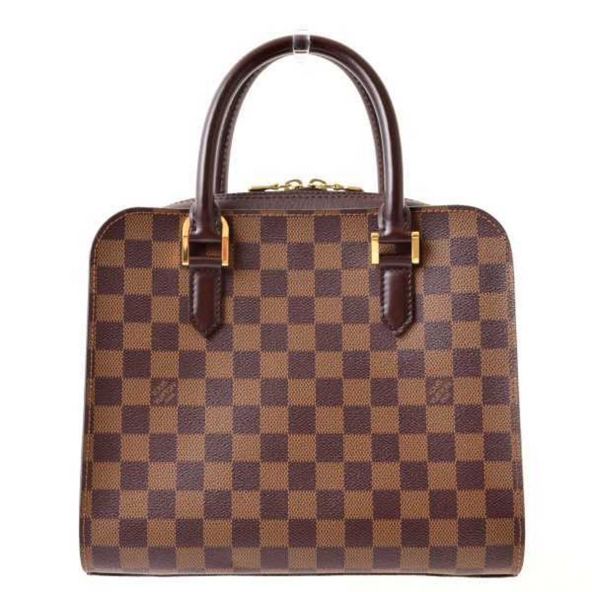 Louis Vuitton Triana Brown Cloth handbag for Women \N