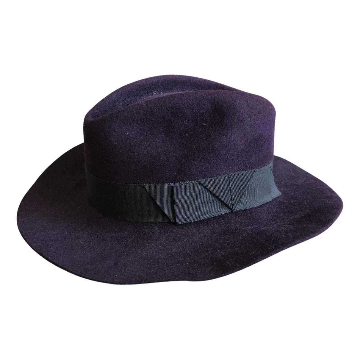 - Chapeau & Bonnets   pour homme en cachemire - violet