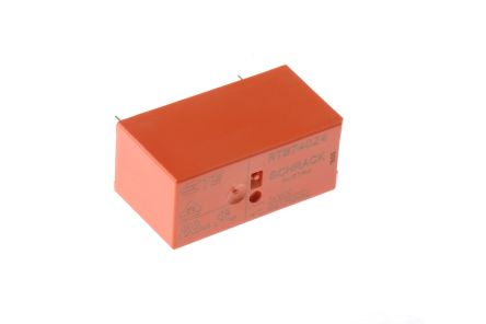 TE Connectivity SPDT PCB Mount Non-Latching Relay, 24V dc Coil 10 A