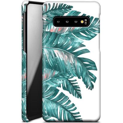 Samsung Galaxy S10 Smartphone Huelle - Tropical Blue von Mark Ashkenazi