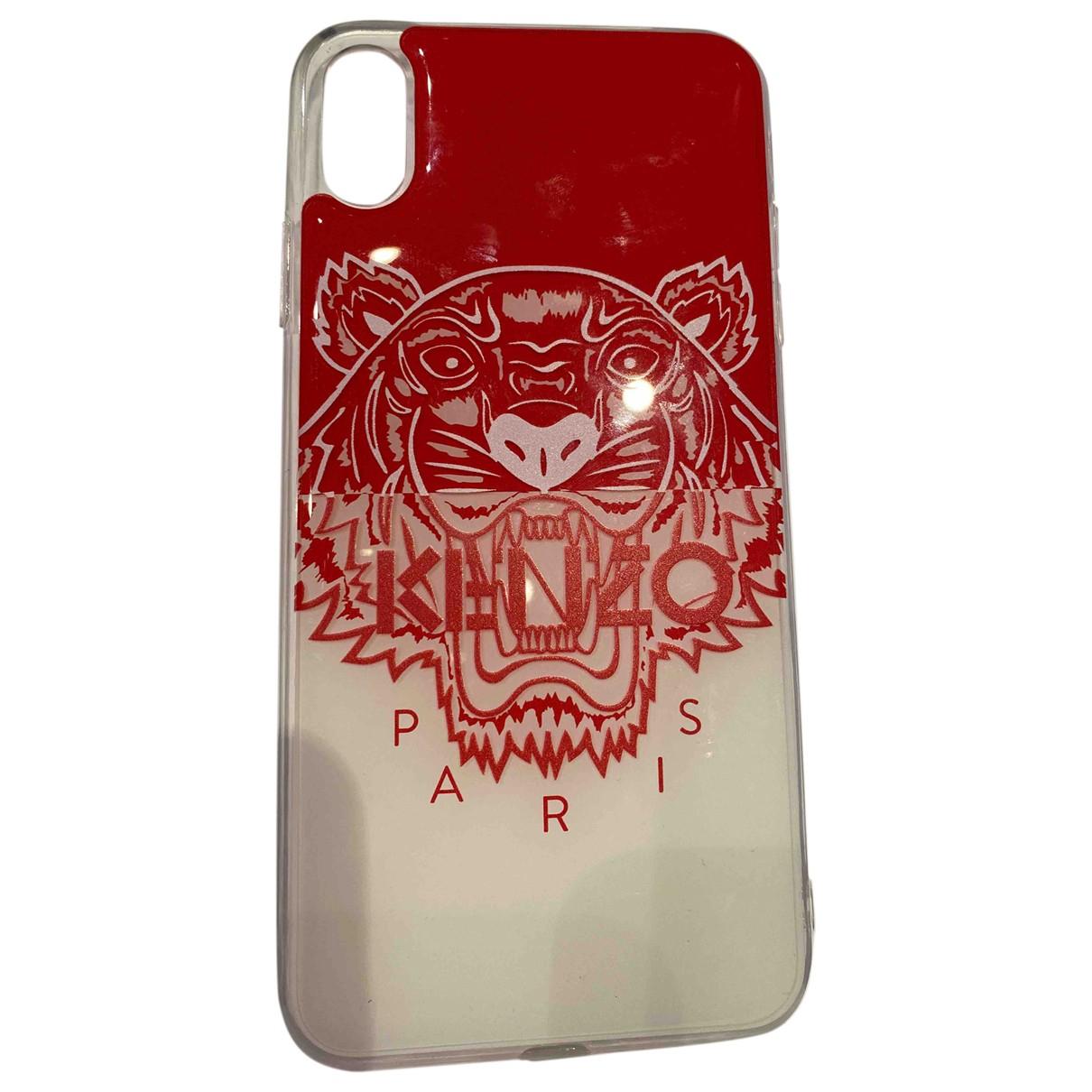 Kenzo \N Accessoires in  Rot Kunststoff