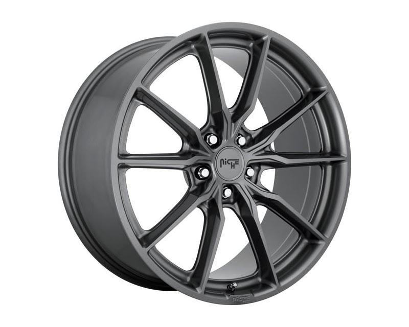 Niche M239 Rainier Wheel 18x8 5x120 30 Matte Anthracite