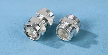 Telegartner Straight RF Adapter 7/16 Plug Plug