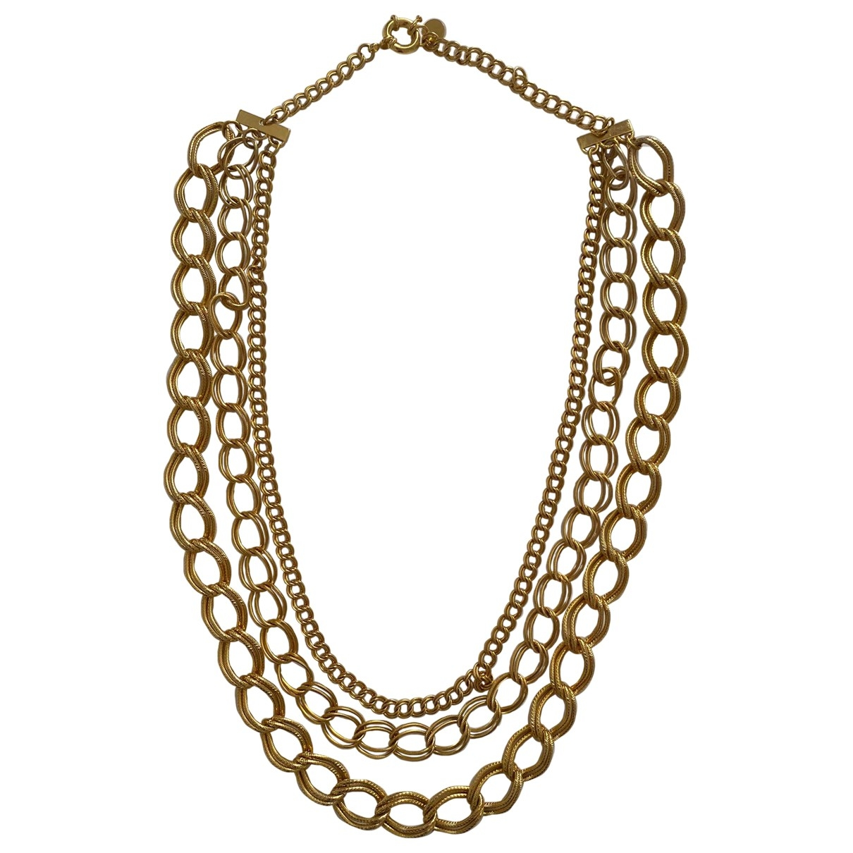Milly \N Gold Metal Long necklace for Women \N