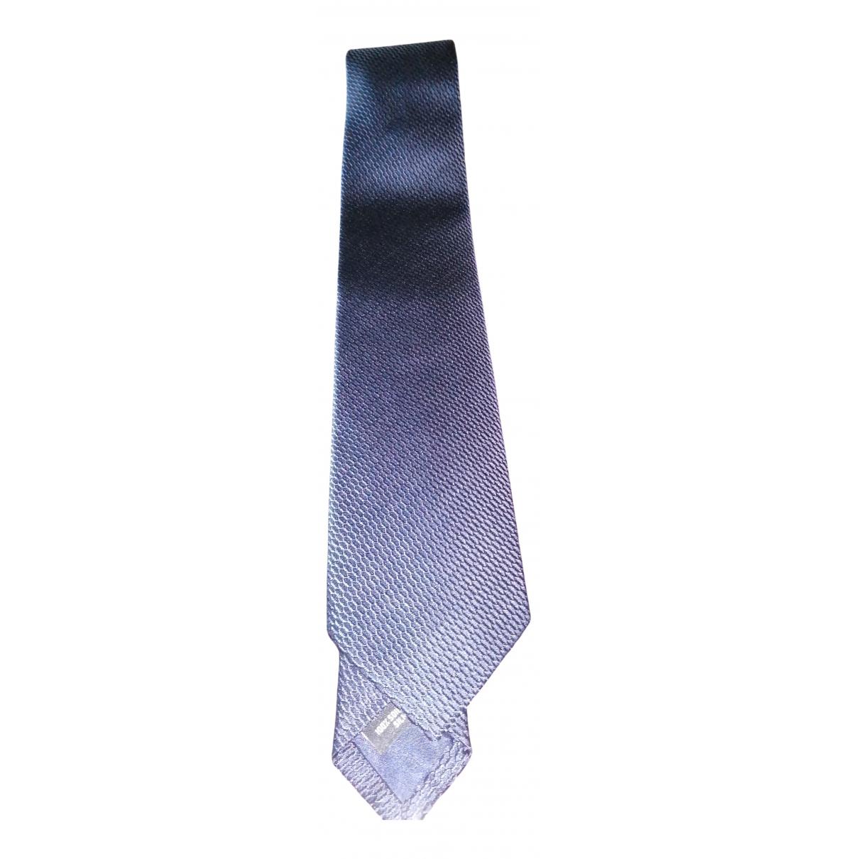 Rolex - Cravates   pour homme en soie - bleu