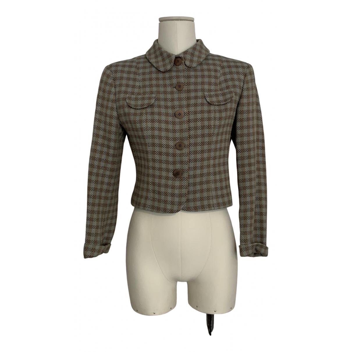 Giorgio Armani - Veste   pour femme en laine - multicolore